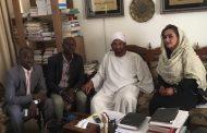 Inteview with leader of National  Uma Party (NUP) Imam Al-Sadig Al-Mahdi