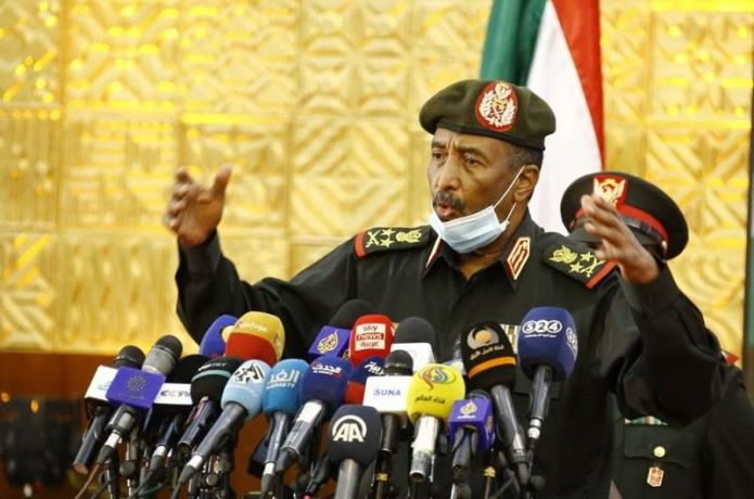 SUDAN DOES NOT WANT TO STAGE WAR ON NEIGGHBOR SAYS AL-BBURHAN