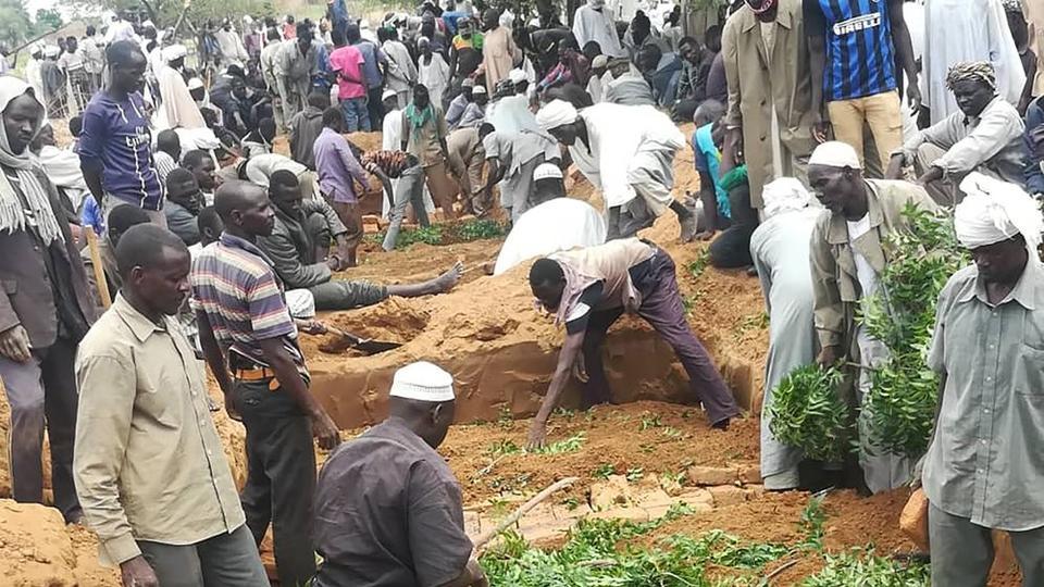 CLASHES LEAVE DOZENS DEAD IN SUDAN'S DARFUR