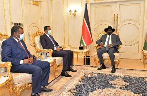 KIIR ,  HEMETTI DISCUSS RESUMPTION OF PEACE TALKS WITH SPLM-N LED BY ALHILU
