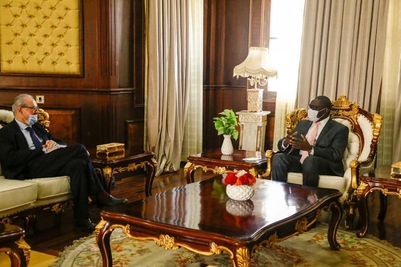 SUDAN TSC MEMBER AFFIRMS COMMITMENT OF SUDAN GOOD NEIGHBORLINESS RELATIONS
