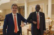 ISRAELI CABINET MINSTER HEADS DLEGATION TO SUDAN