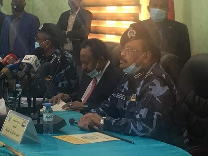 HANDOK EMPHAZISES IMPORTANCE OF ESTABLISHING SECURITY IN THE DARFUR FOLLOWING THE EXIT OF UNAMID