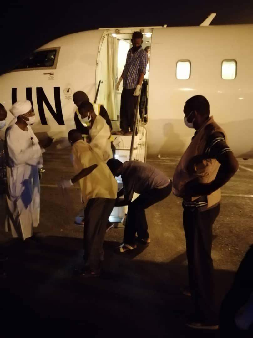 UNAMID evacutes 24 injuries from Al-Geneina to Khartoum