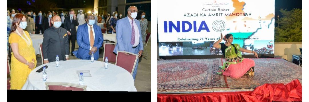 INDIAN EMBASSY TO KHARTOUM COMMEMORATES 75 YEARS OF INDIA'S INDEPENDENCE