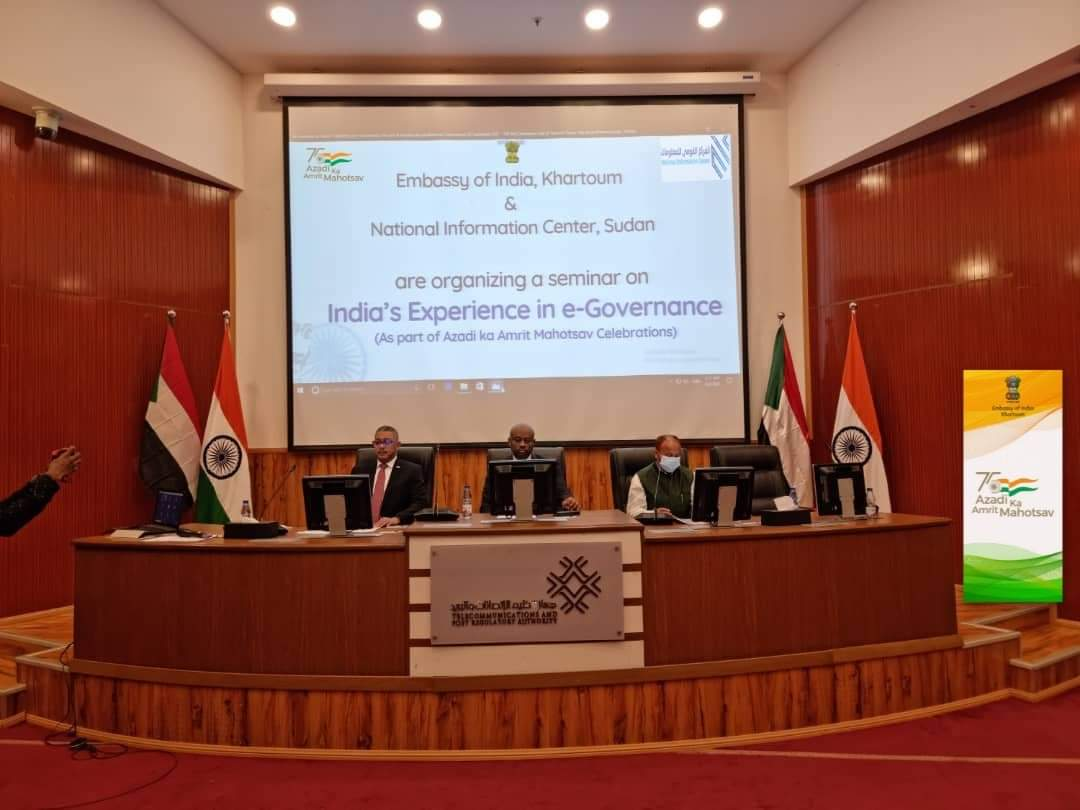Sudan hails India's experience on e-governance; vows to digitalize public service office