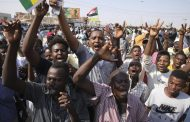 Hundreds of thousands rally in Sudan's capital to demand civilian rule